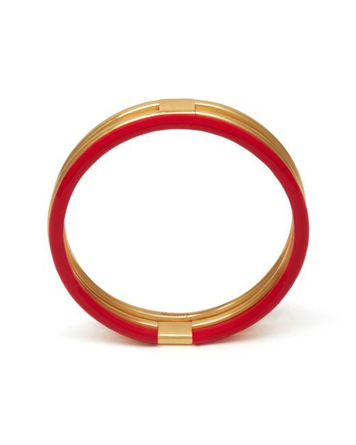 Mulberry | Red Triple Bracelet | Lyst