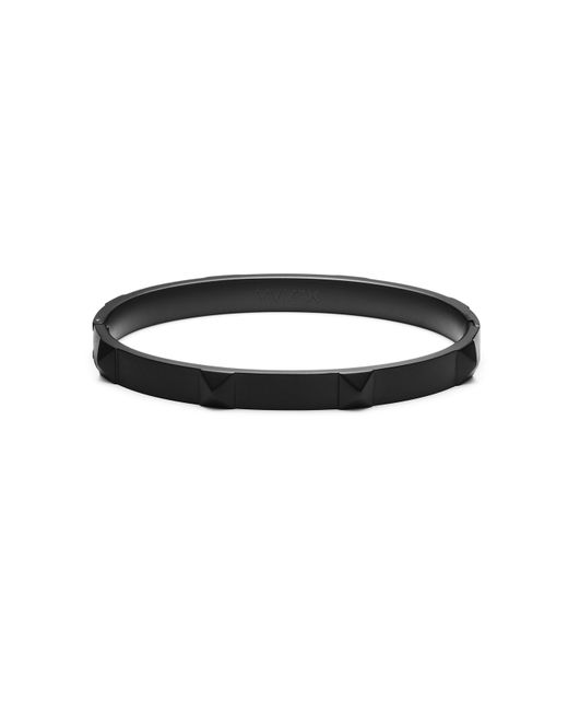 MVMT - Black Stud Bangle(t) - Lyst