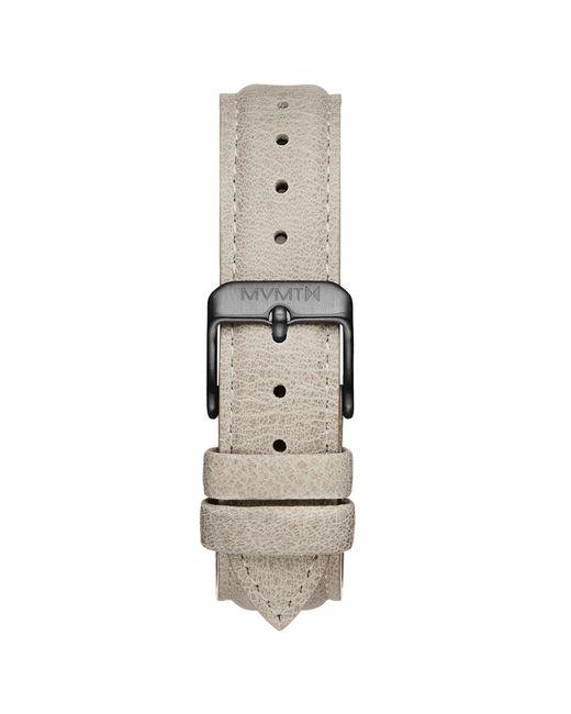 MVMT - Black Boulevard - 18mm Bone Leather for Men - Lyst