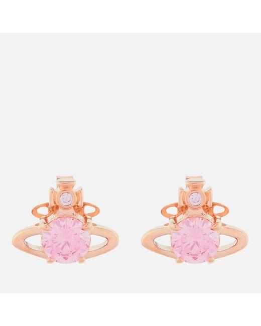 Vivienne Westwood Metallic Reina Earrings