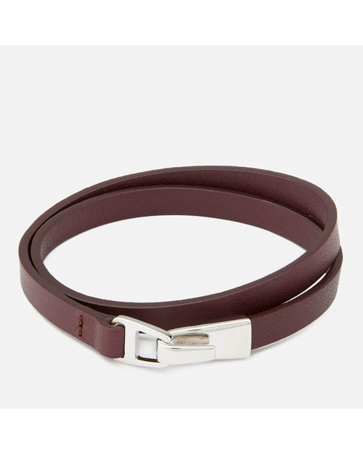 Miansai - Multicolor Moore Wrap Bracelet With Silver Catch for Men - Lyst