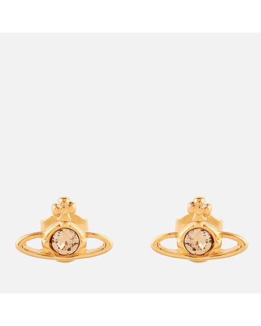 Vivienne Westwood | Metallic Nano Solitaire Earrings | Lyst