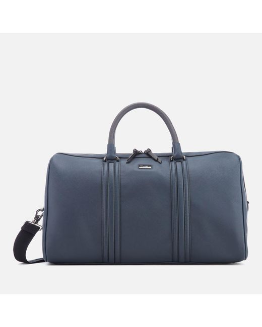 Ted Baker - Blue Grankan Crossgrain Holdall Bag for Men - Lyst