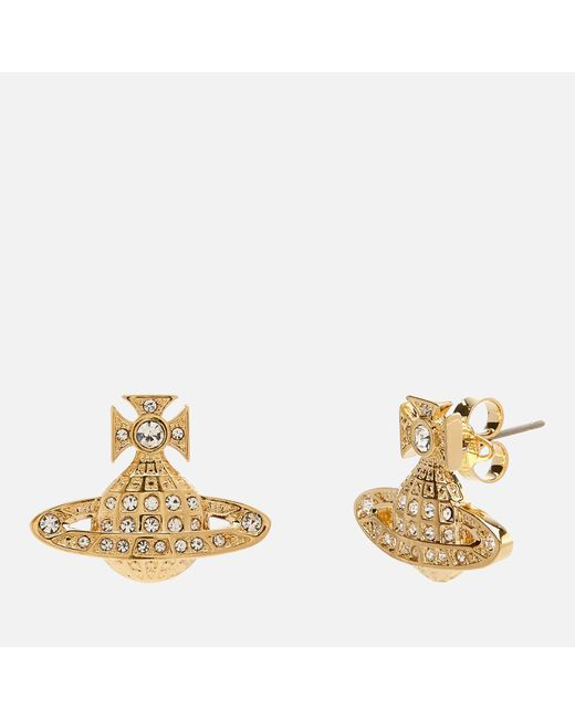 Vivienne Westwood - Metallic Minnie Bas Relief Earrings - Lyst