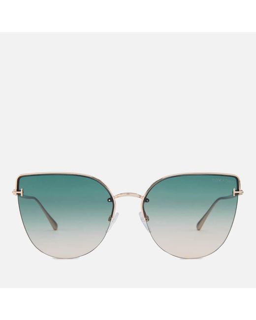 Tom Ford Metallic Ingrid 02 Sunglasses