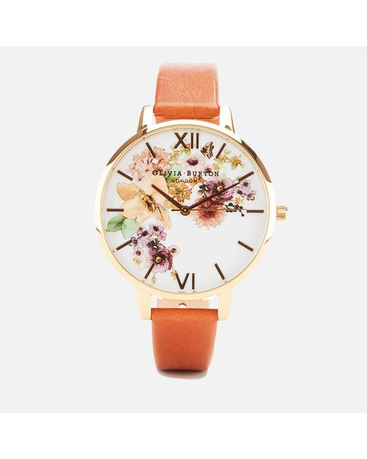 Olivia Burton - Multicolor Flower Show Watercolour Watch - Lyst