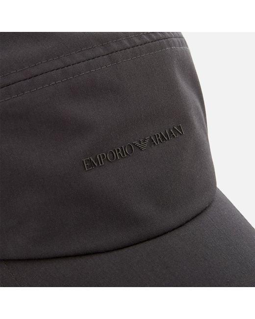 35510f18b1c88 Emporio Armani Logo Baseball Cap in Gray for Men - Save 49% - Lyst