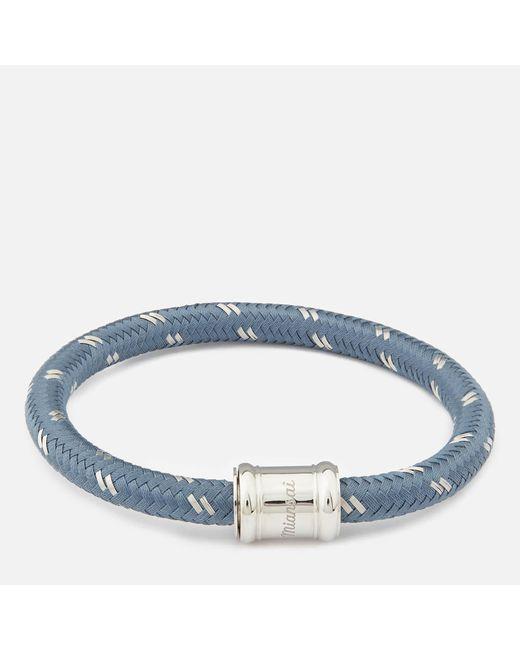Miansai - Blue Men's Single Rope Casing Bracelet for Men - Lyst