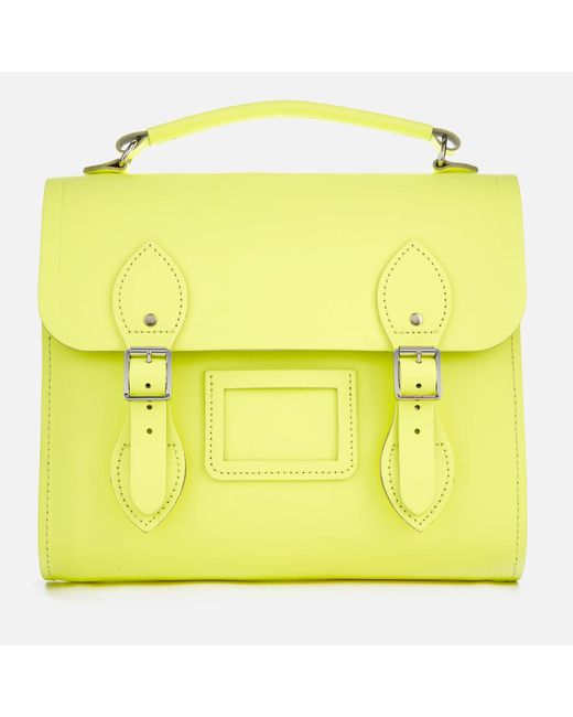 Cambridge Satchel Company - Yellow Barrel Backpack - Lyst