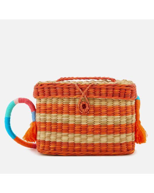 Nannacay - Orange Roge Multi Thread Cross Body Bag - Lyst