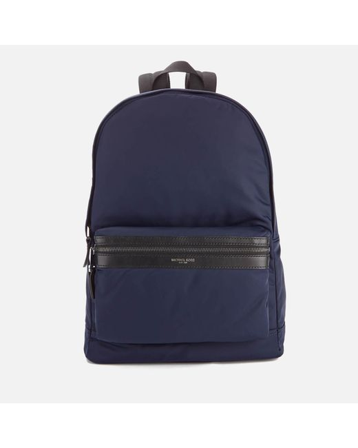 Michael Kors - Blue Men's Kent Nylon Backpack for Men - Lyst