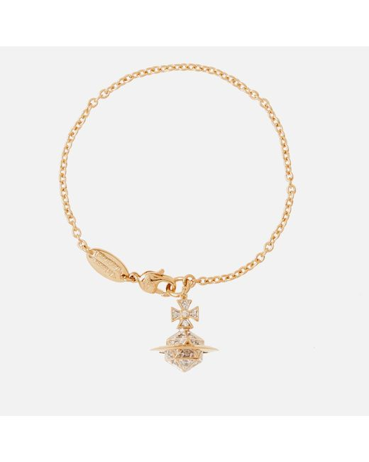 Vivienne Westwood - Metallic Bessie Orb Bracelet - Lyst