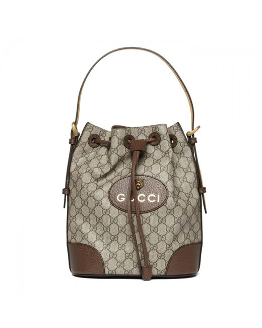 53d9a30c1 Gucci - Natural Gg Supreme Leather Bag for Men - Lyst ...