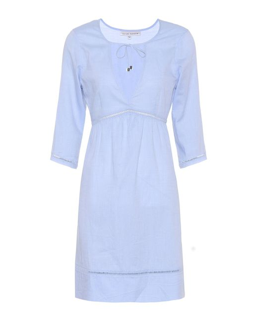 Heidi Klein - Blue Anacapri Cotton Dress - Lyst