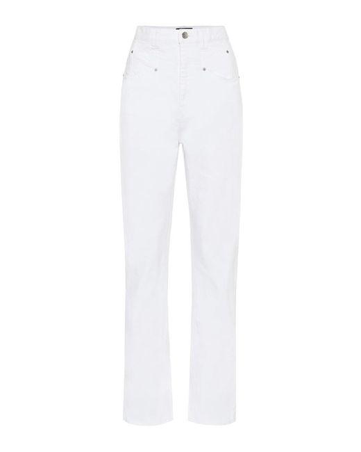 Jeans regular Dominic di Isabel Marant in White