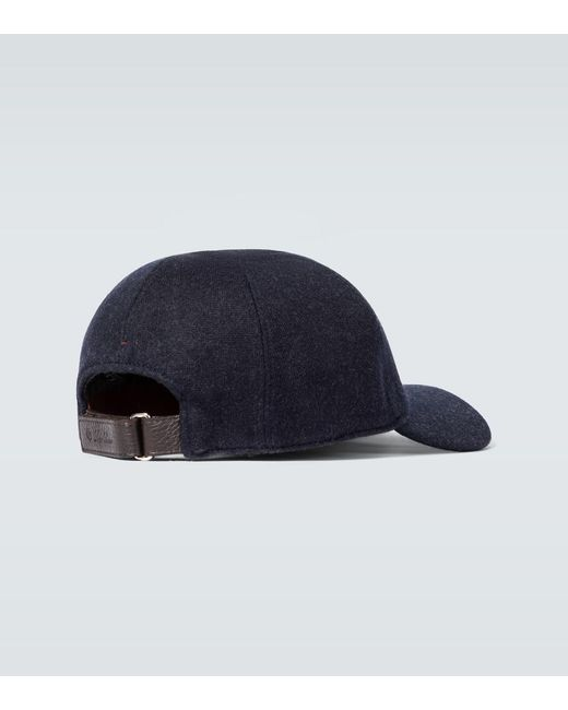 Cappello My Baseball di Loro Piana in Brown da Uomo
