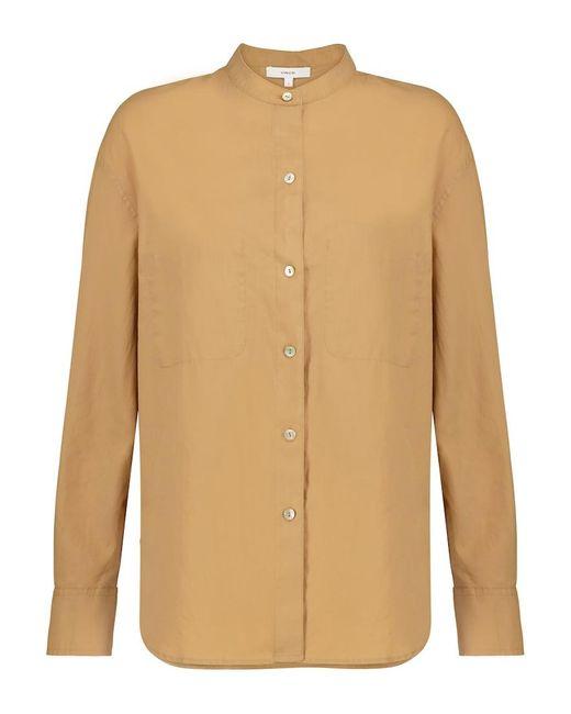 Camicia in cotone e seta di Vince in Natural