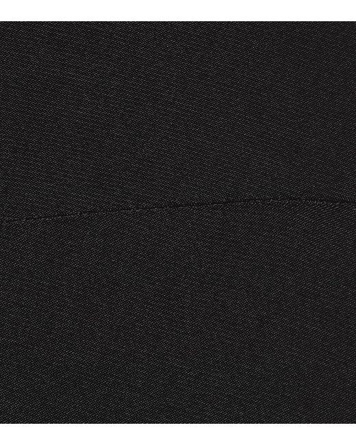 Abito lungo in jersey stretch di Norma Kamali in Black