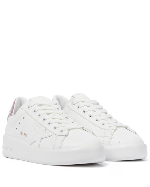 Zapatillas Purestar de piel Golden Goose Deluxe Brand de color White