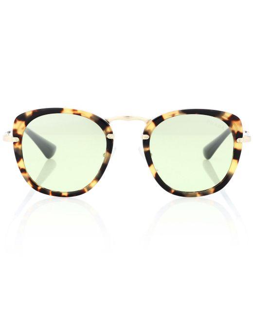 Prada - Brown Wanderer Square Sunglasses - Lyst
