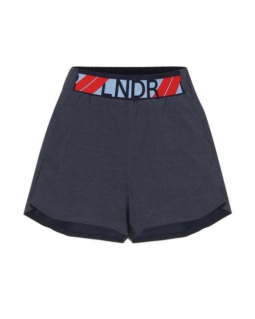 LNDR Blue Shorts Drift