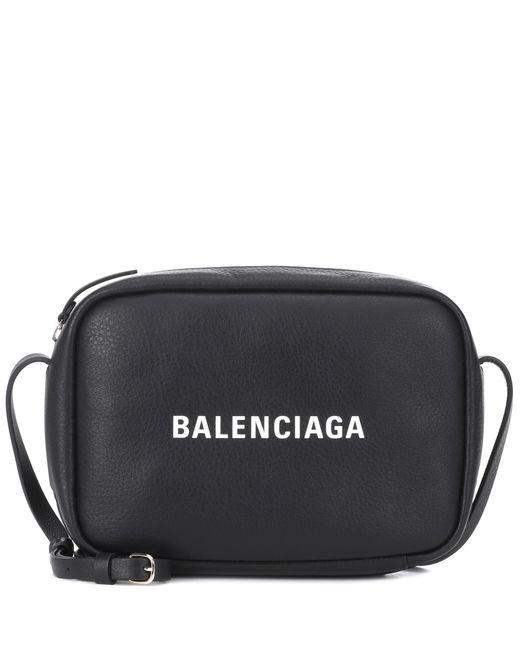 Balenciaga - Black Everyday S Leather Crossbody Bag - Lyst