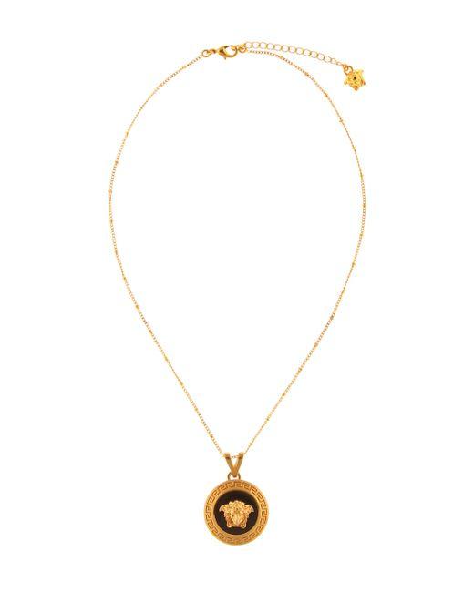Versace Metallic Medusa Necklace