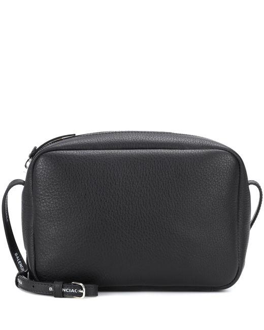 Balenciaga - Black Everyday Leather Crossbody Bag - Lyst