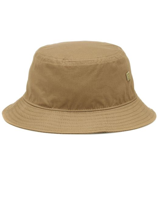 Acne Green Buk Face Cotton-twill Hat