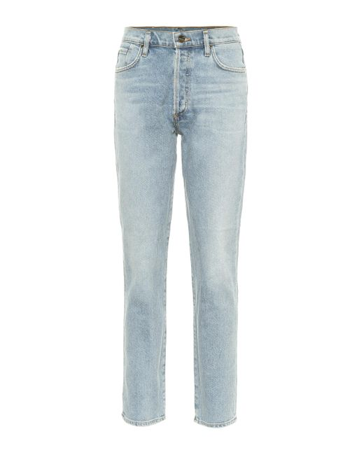 Goldsign Blue High-Rise Jeans The Benefit