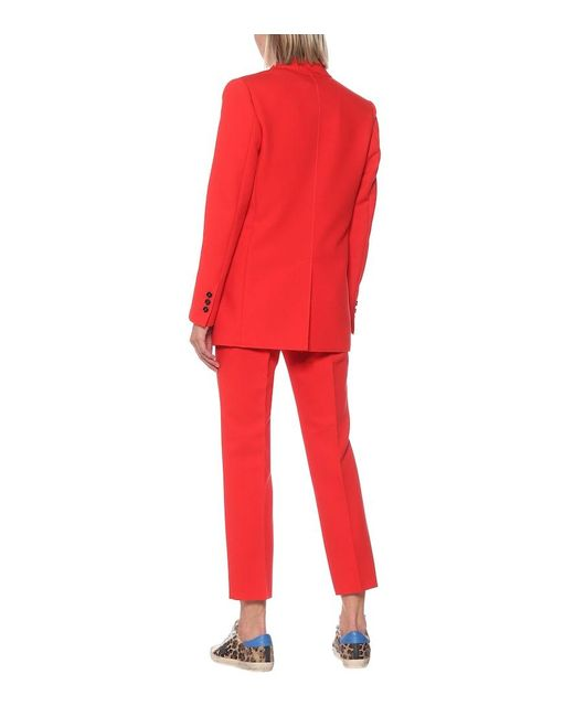 Blazer in cady di MSGM in Red