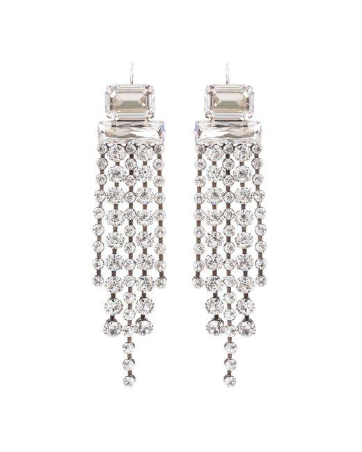 Isabel Marant   Metallic Crystal-embellished Earrings   Lyst