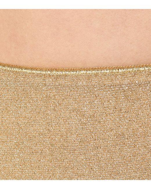 Bikini Lumière Oseree en coloris Metallic