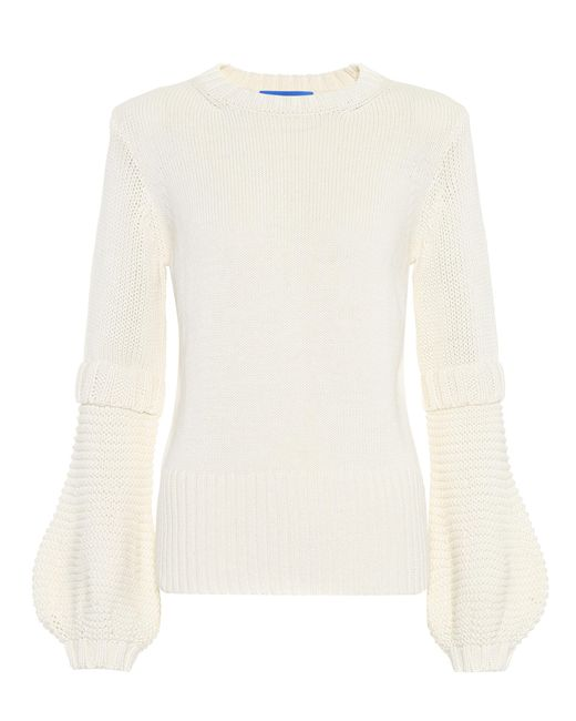 MiH Jeans - White Leeson Cotton Sweater - Lyst