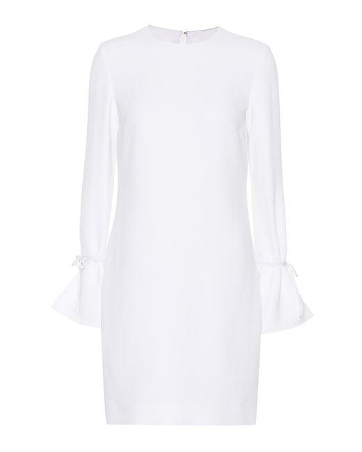 Victoria, Victoria Beckham - White Crêpe Dress - Lyst