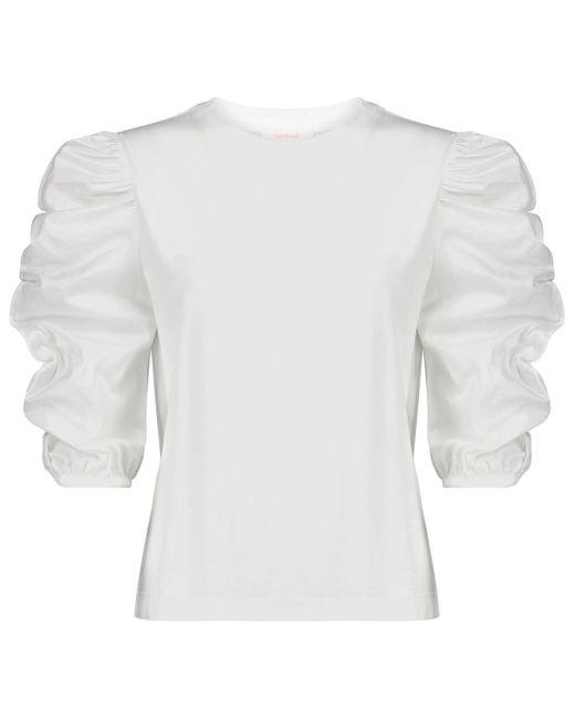 Top en coton See By Chloé en coloris White