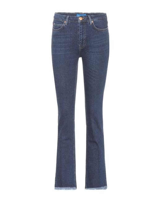 MiH Jeans - Blue High-Waist Jeans Daily - Lyst
