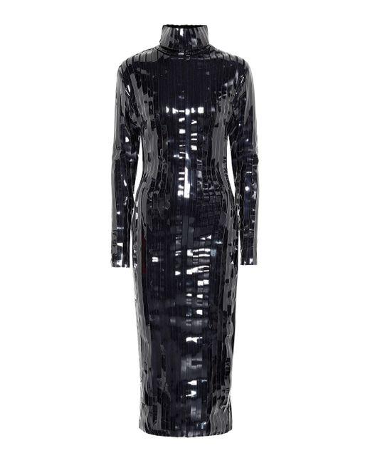 Y. Project Black Paneled Midi Dress