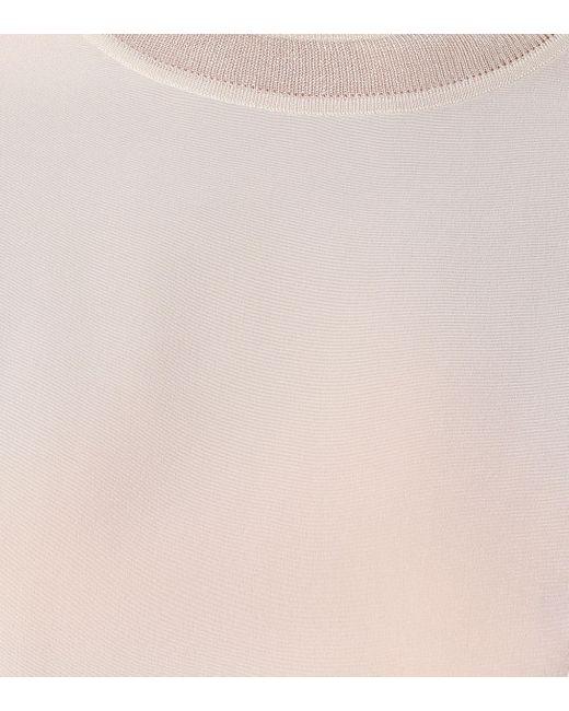 JOSEPH Blusa Rubin de seda de mujer de color neutro fg0mR