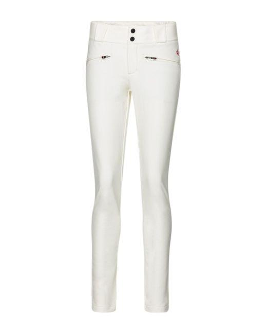 Perfect Moment White Aurora Flare Ski Pants