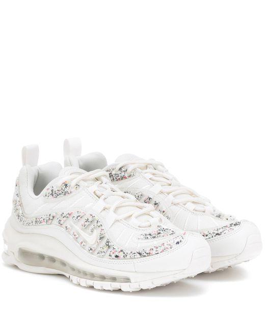Nike Zapatillas Air Max 98 LX de mujer de color blanco