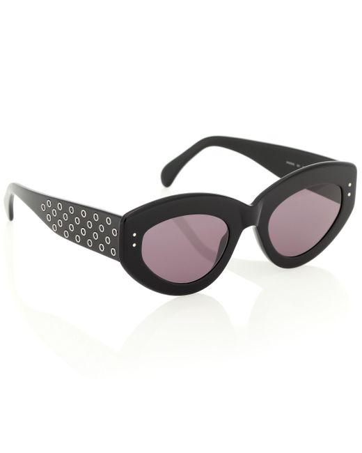 Alaïa Women's Black Cat-eye Sunglasses