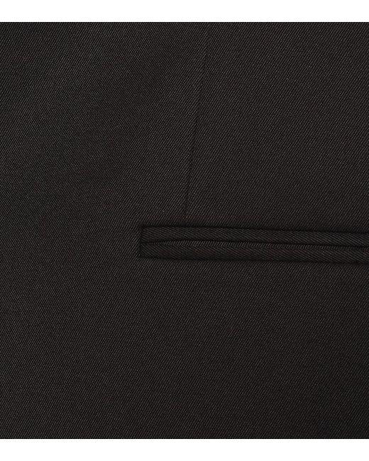 Blazer in gabardine misto cotone di Tod's in Black