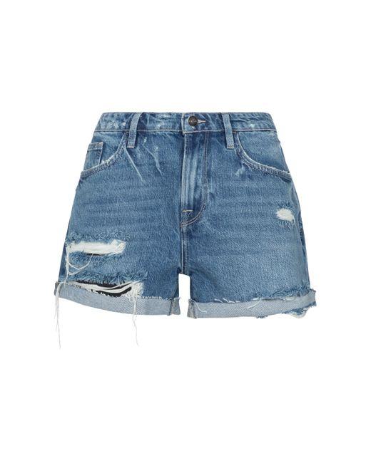 Shorts Le Grand Garçon de jeans FRAME de color Blue