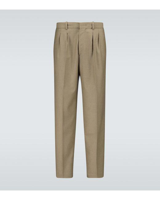 Isabel Marant Green Nicklen Single-pleated Pants for men