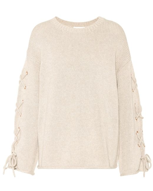 See By Chloé | Natural Knitted Sweater | Lyst