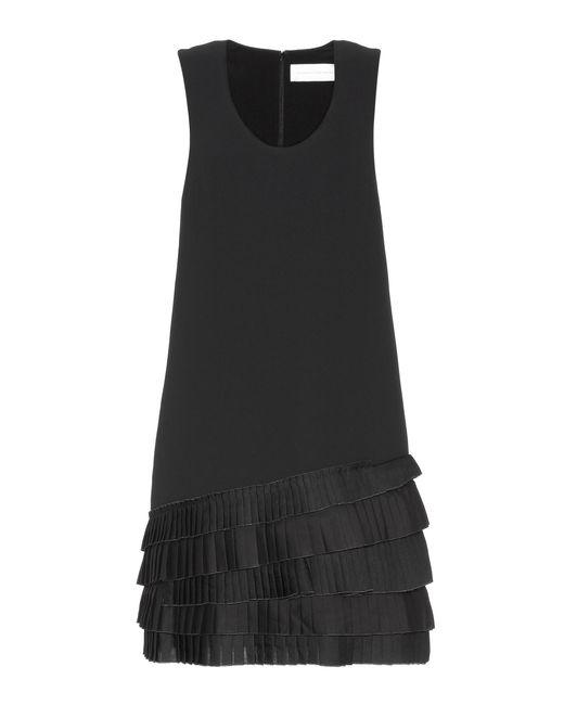 Victoria, Victoria Beckham Black Sleeveless Dress