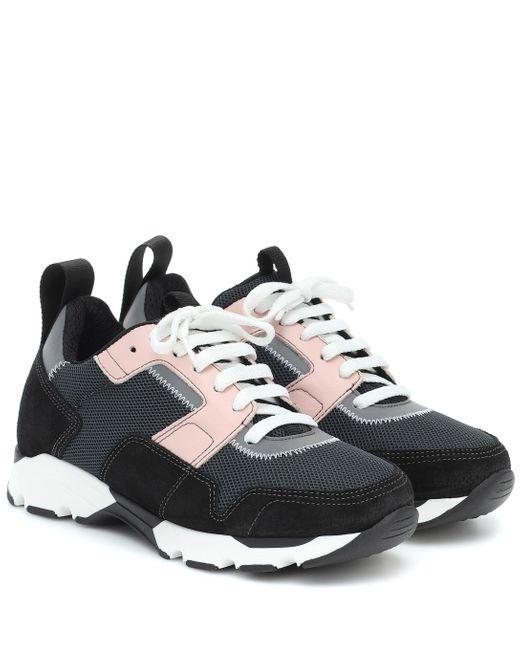 Marni Black Klassische Sneakers