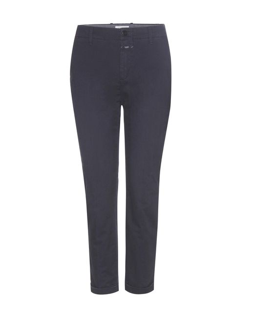 Closed - Blue Stewart Cotton Trousers - Lyst