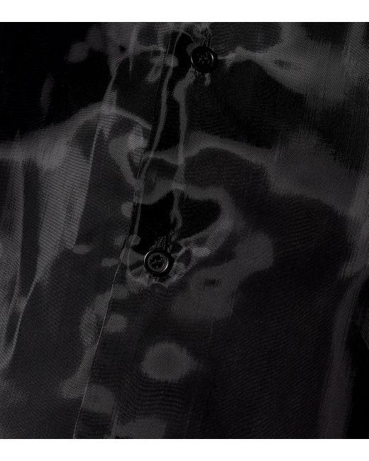 Chemise Noir Kei Ninomiya en coloris Black